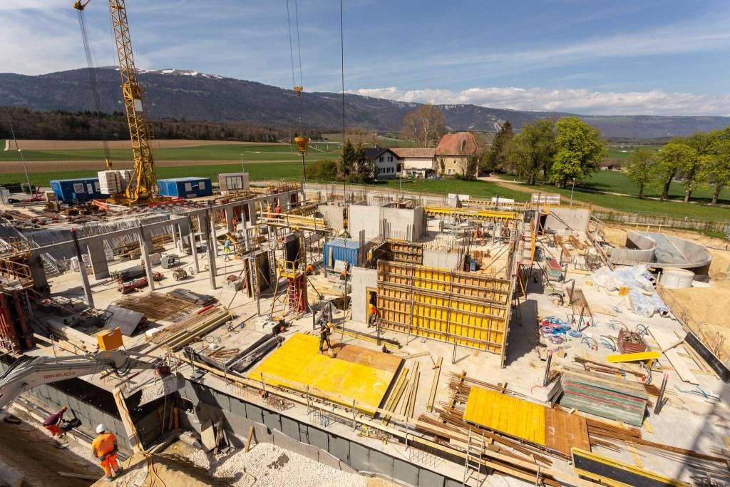 Construction d'un EMS à Orbe, 2019